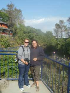 Etresia and doughter in Nepal